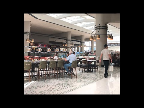 Check out the new food court at aventura mall. LIVE!