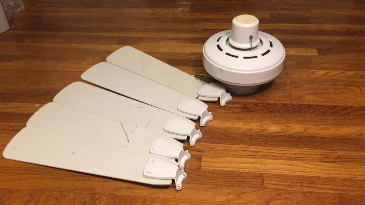 Broken Ceiling Fan : New fan hunter infiniti ceiling quot broken blades