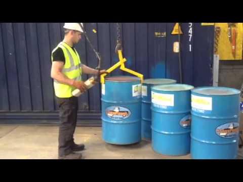 Gantry Crane Vertical Drum Lifter By DRE.ie