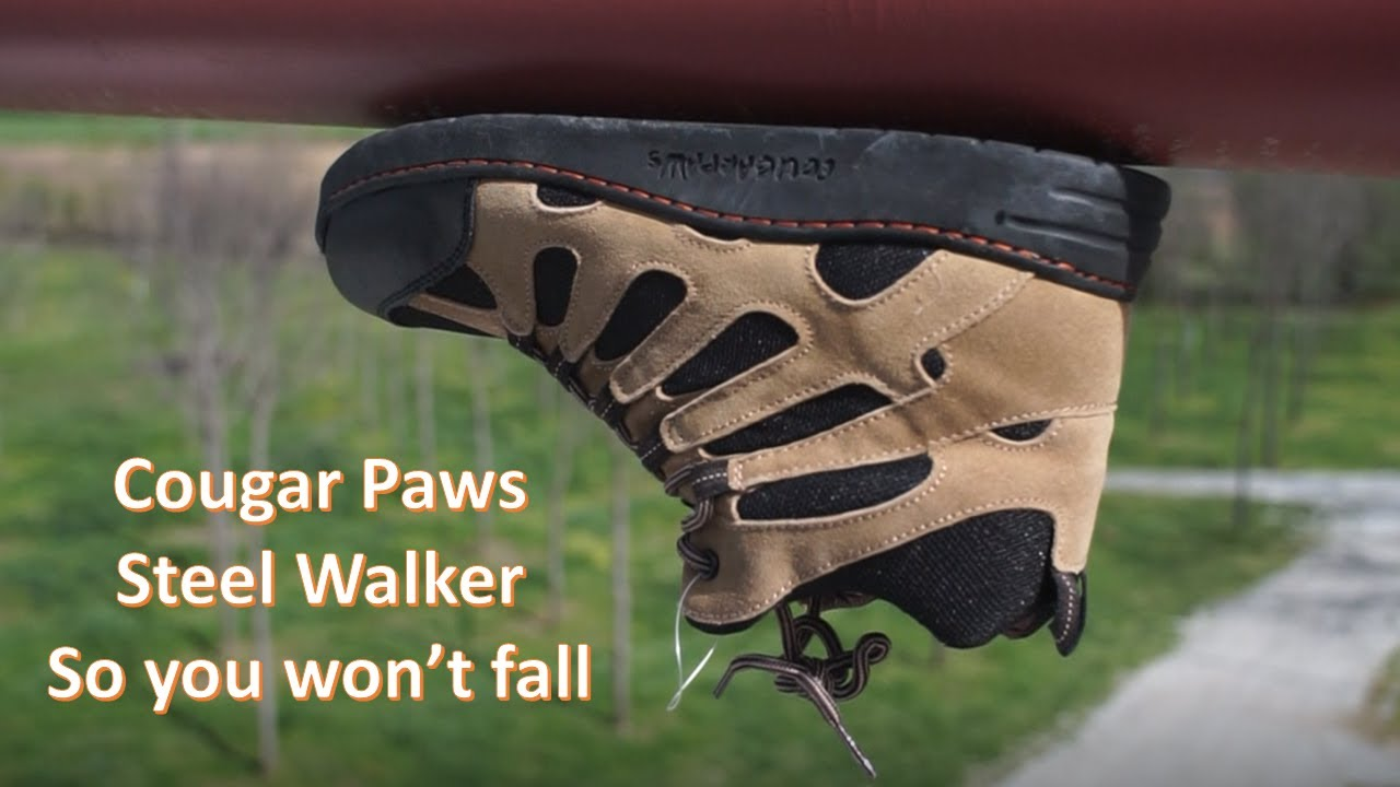 Cougar Paws Steel Walker Boots Youtube