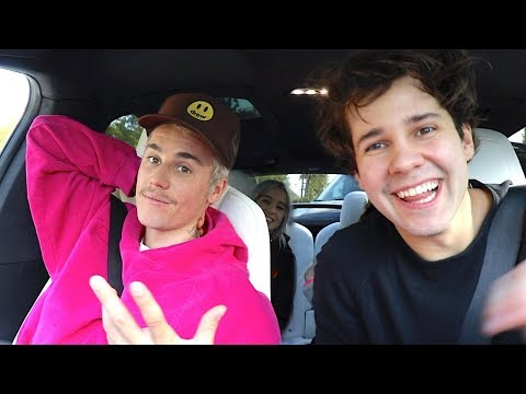 Zann - Justin Bieber Surprises Fans and Haters with David Dobrik (Video)