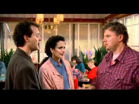 "'Groundhog Day' ""I'm a god"" scene"