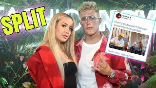 TANA MONGEAU BROKE UP WITH JAKE PAUL