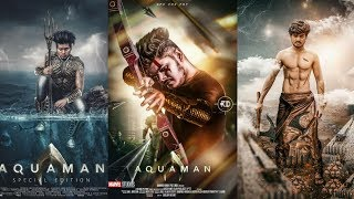 AQUAMAN movie poster manipulation editing | Create a Action Movie Poster