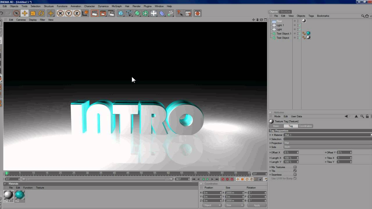 Cinema 4D Intro Turorial Basic HD (DUTCH)