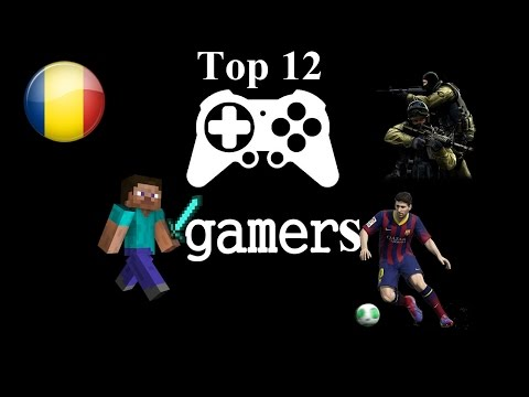 Top 12 cei mai populari gameri români