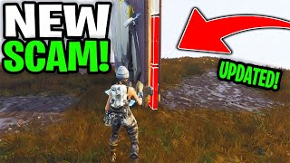 *NEW SCAM* Updated Invisible Wall Trap Scam! Scammer Gets Exposed In Fortnite Save The World