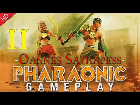 Pharaonic (HD) PC Gameplay (Part 11) Oannes Satrapess Of Avaris |