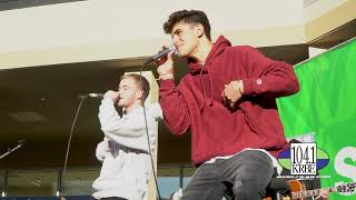 "Jack & Jack perform ""Wrong One"" for Spring Break Escape at The Square"