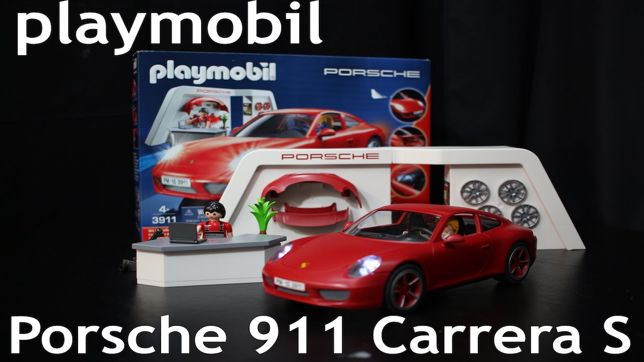 playmobil porsche 911 carrera s playmobil 3911 toy car. Black Bedroom Furniture Sets. Home Design Ideas