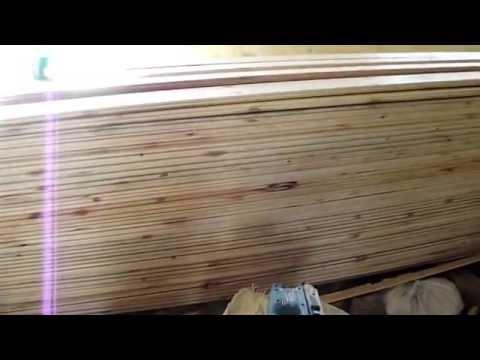 видео: каркасный дом 9 часть Потолок и некоторые хитрости