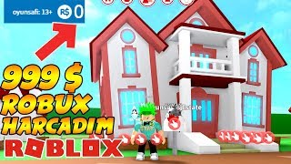 😭999$ ROBUX CASA BOUGHT Y SPENT TODOS MIS ROBUXs 😭Roblox Meep City / Game Line