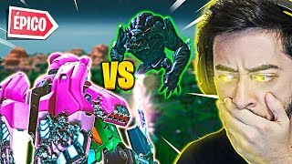 ROBÔ VS MONSTRO! O MAIOR  EVENTO DO FORTNITE!!