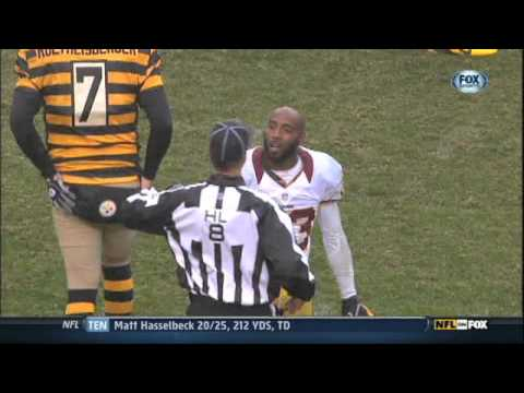Deangelo Hall Fight