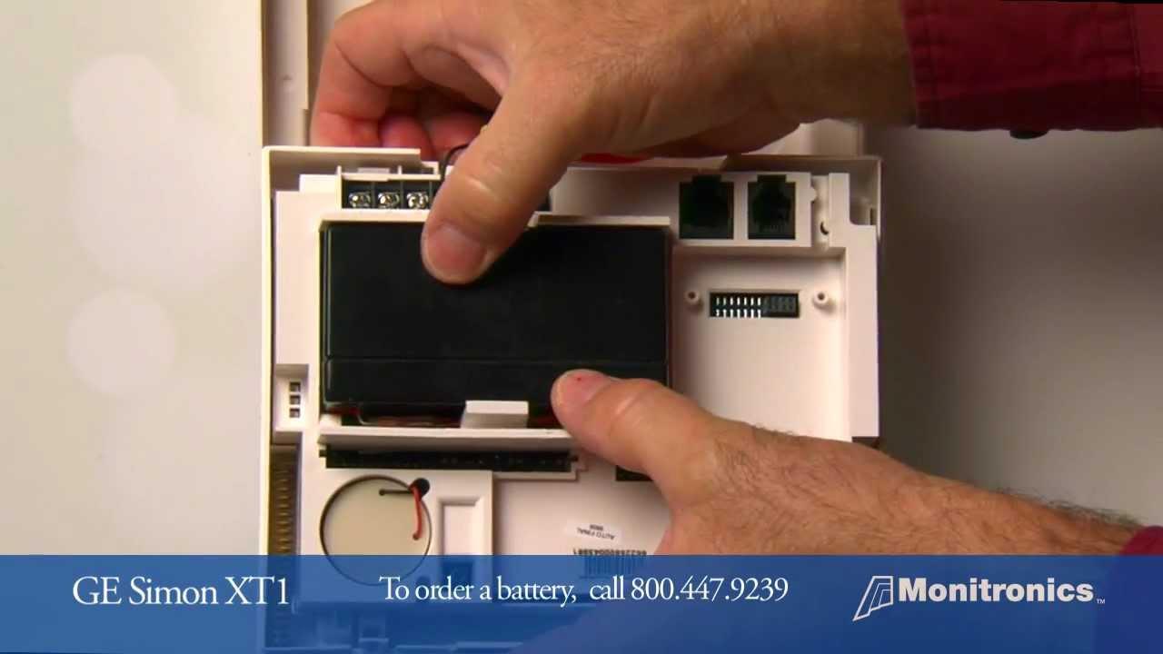 Simon xt panel battery