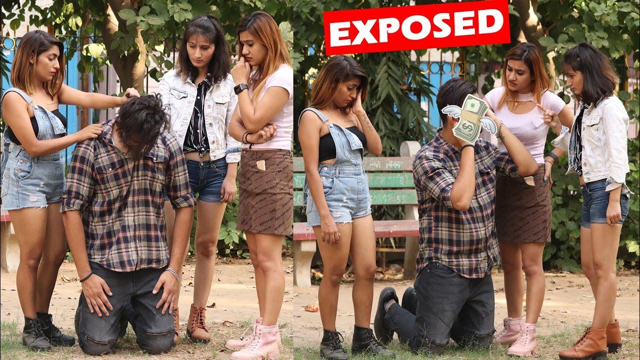 दोनों को मँगेतर बना कर दे रहा था धोखा और लूट रहा था पैसे 😱   Gold Digger Expose   Rits Dhawan