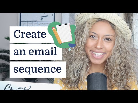 How to create an email sequence