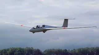 Полет на планере Twin Astir в Шевлино