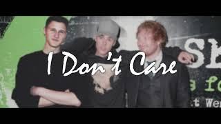 Ed Sheeran X Justin Bieber - I Don't Care (Robby Burke Remix)