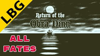 Return Of The Obra Dinn | Full Walkthrough/Guide (All Fates with Timestamps)