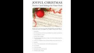Joyful Christmas Flute Choir