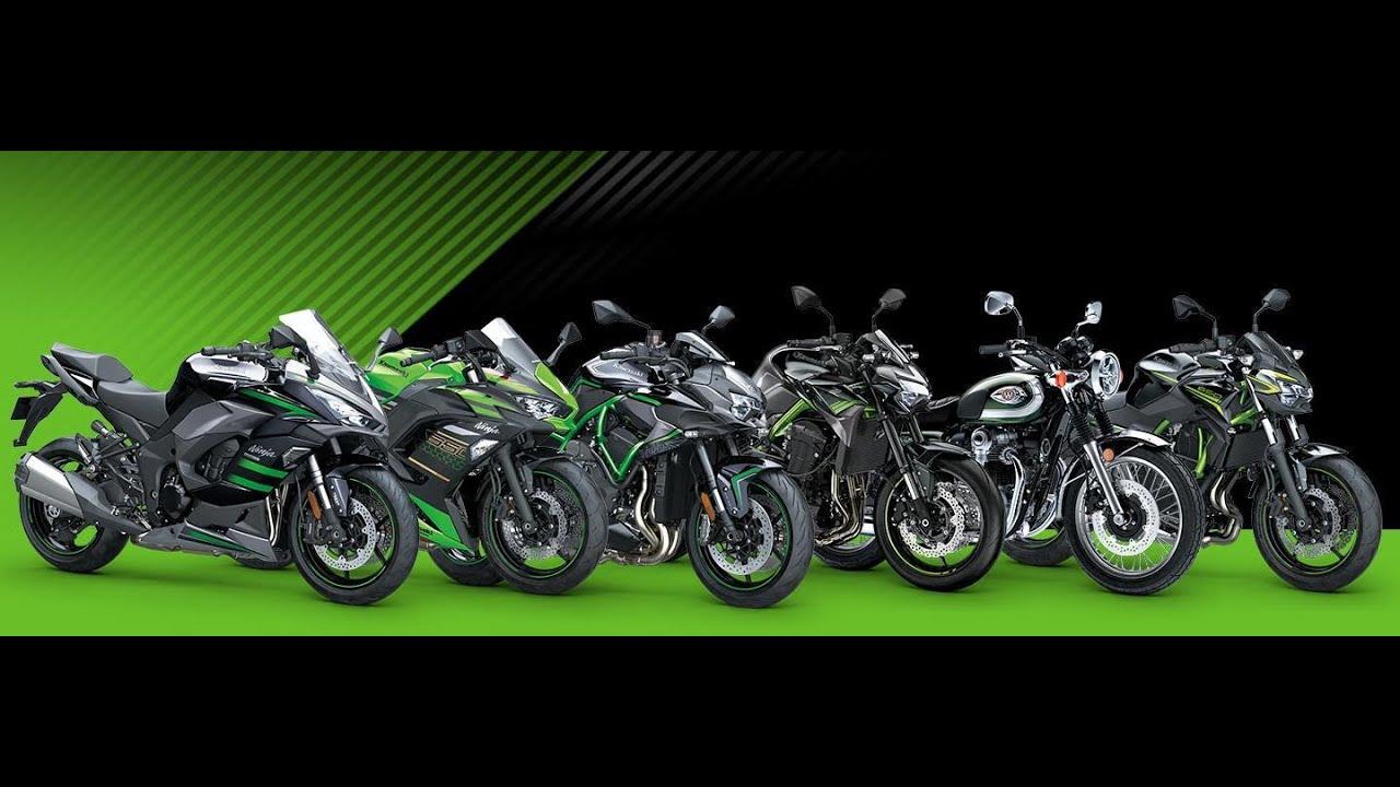 Kawasaki model year 2020 video