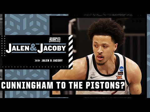 Jalen thinks the Pistons will take Cade Cunningham No. 1 and reacts to the Jonas Valanciunas trade
