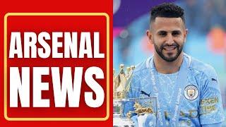 Martin Odegaard £40million TRANSFER   Riyad Mahrez £36million TRANSFER   Arsenal News Today