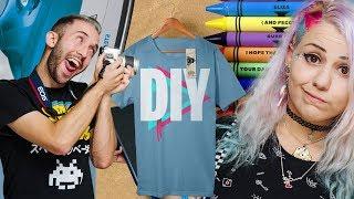 איך להדפיס חולצות בזול! אל תנסו את זה בבית