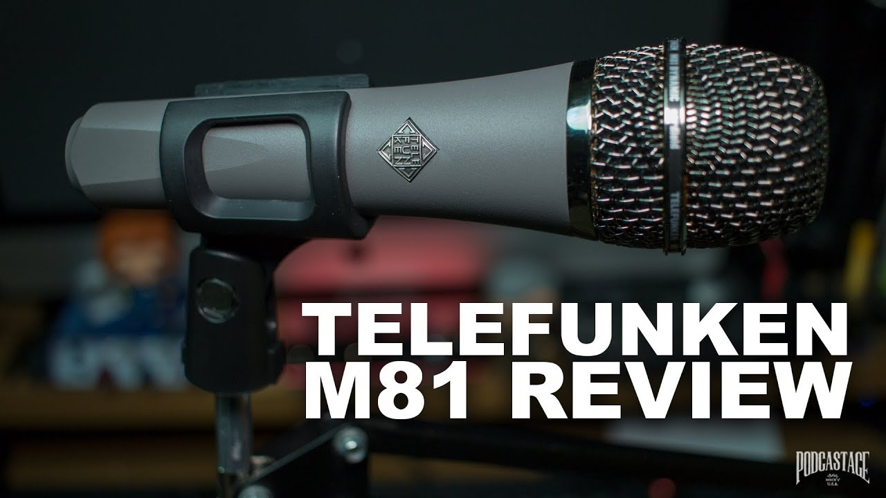 Telefunken Test Telefunken M81 Dynamic Mic Review Test