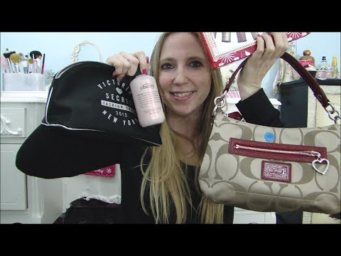 YARD SALE & Garage HAUL! What Did I end up Buying? COACH, Sephora, Victoria's Secret, PHILOSOHPY +