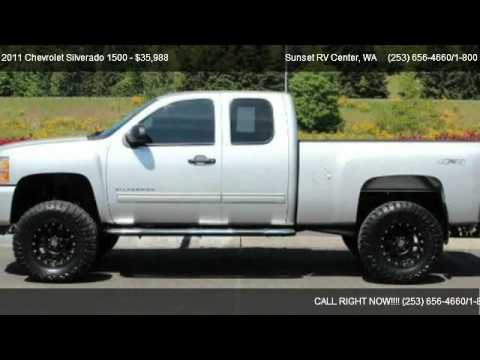 2011 chevrolet silverado 1500 1500 4x4 lt lifted for sale in bonney lake wa we are rv 39 s. Black Bedroom Furniture Sets. Home Design Ideas