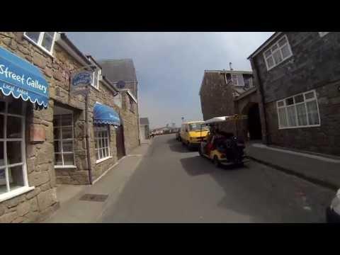 Cycle through Hugh Town