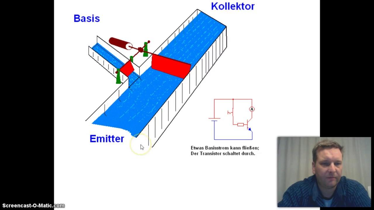 de werking van de transistor youtube
