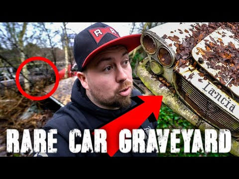 We Found Abandoned RARE Lancia Car Graveyard In Someone's Back Garden
