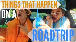Things That Happen on a Roadtrip! | Brent Rivera