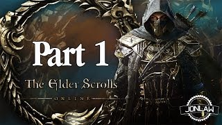 The Elder Scrolls Online Walkthrough Part 1 Imperial - Tamriel Unlimited Gameplay Review