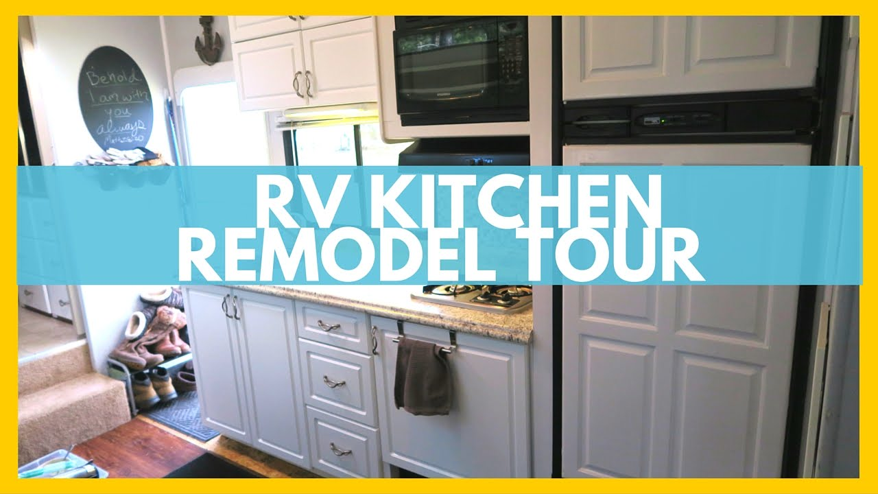 COMPLETE RV KITCHEN TOUR! | The Freedom Theory - YouTube