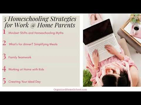 5 Homeschooling Strategies For Work At Home Parents During COVID-19
