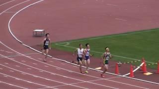 2017東部高校総体 男子4×400mR 予選2組
