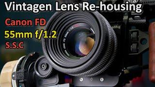 [DIY] Canon FD 55mm f1.2 S.S.C…