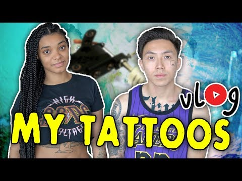 MY TATTOOS AND THEIR MEANING... *vlog*