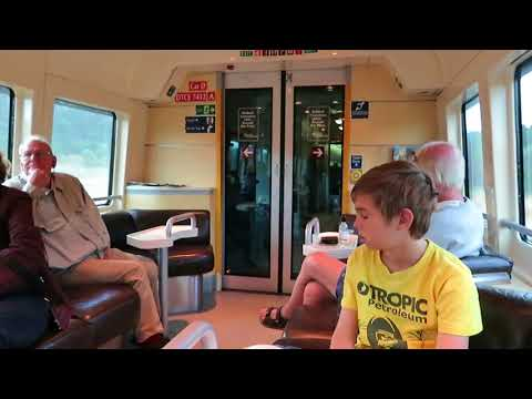 Brisbane To Townsville On The Spirit Of Queensland, Train. John Coyle Video.