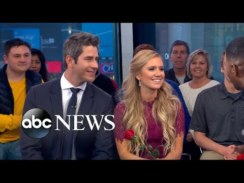 Bachelor Arie and new fiancee discuss future together