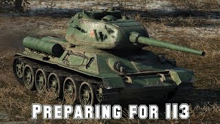 World Of Tank Blitz: Preparing for 113 grind