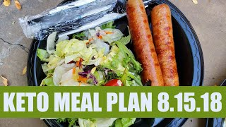 Keto Meal Plan | Keto Full Week of Eating 08.15.18 | Keto fdoe x7 #ketomealplan