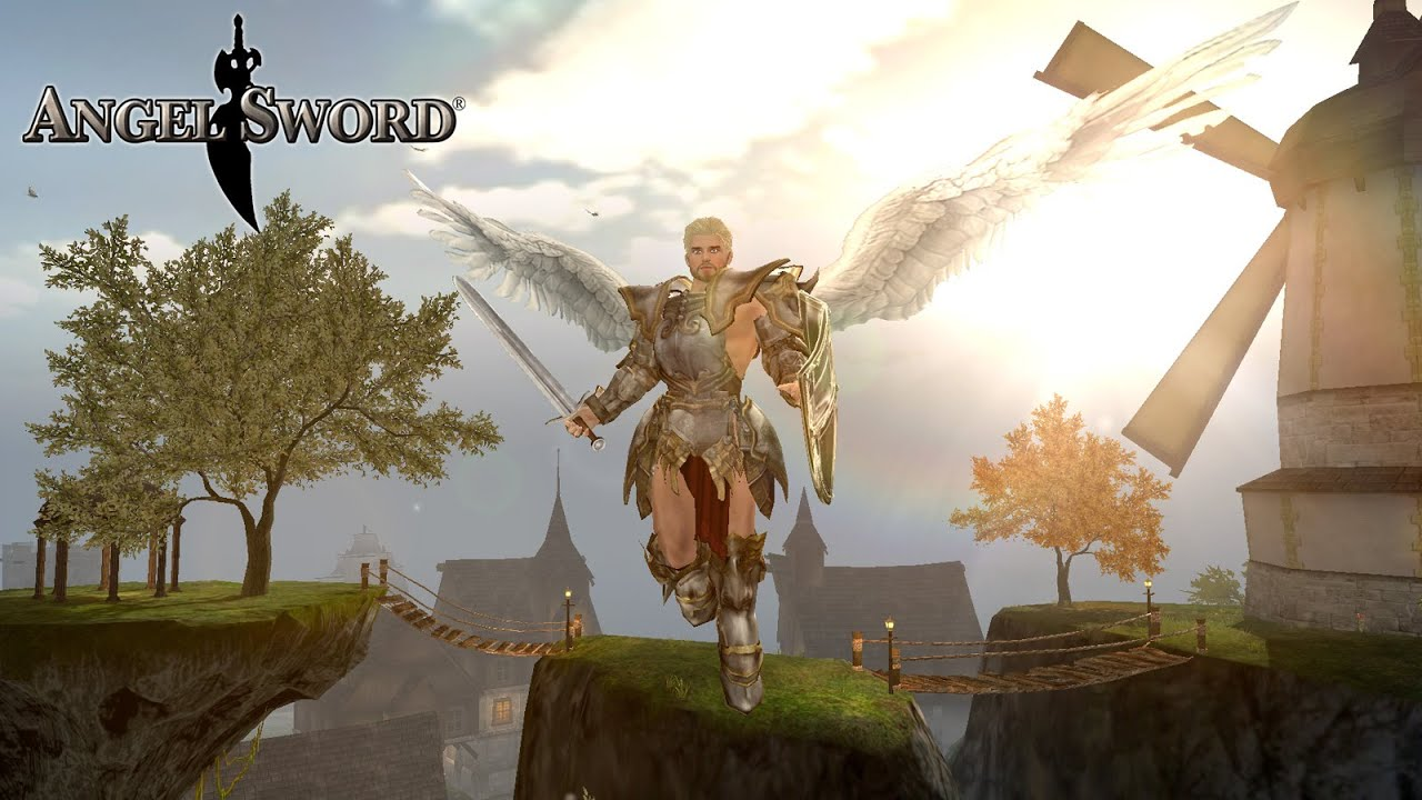 3d Wallpaper Ios Angel Sword 3d Rpg For Ios Android Game Trailer Youtube