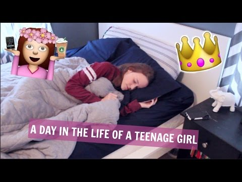 A Day in the Life of a Teenage Girl