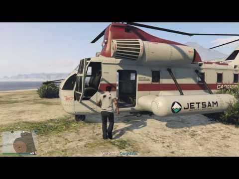 GTA5 - Import/Export - Source - Offshore pickup solo 0% damage