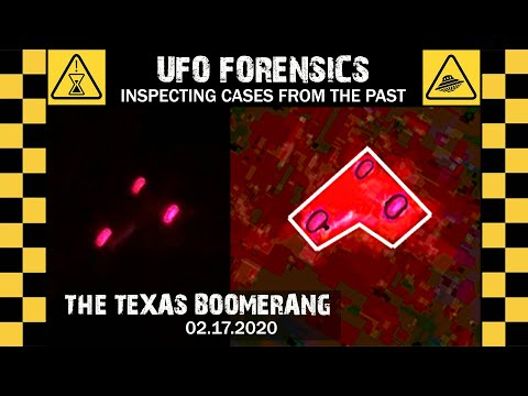 UFO SIGHTING VIDEO • UFO Forensics - PAST CASES • TX 2020
